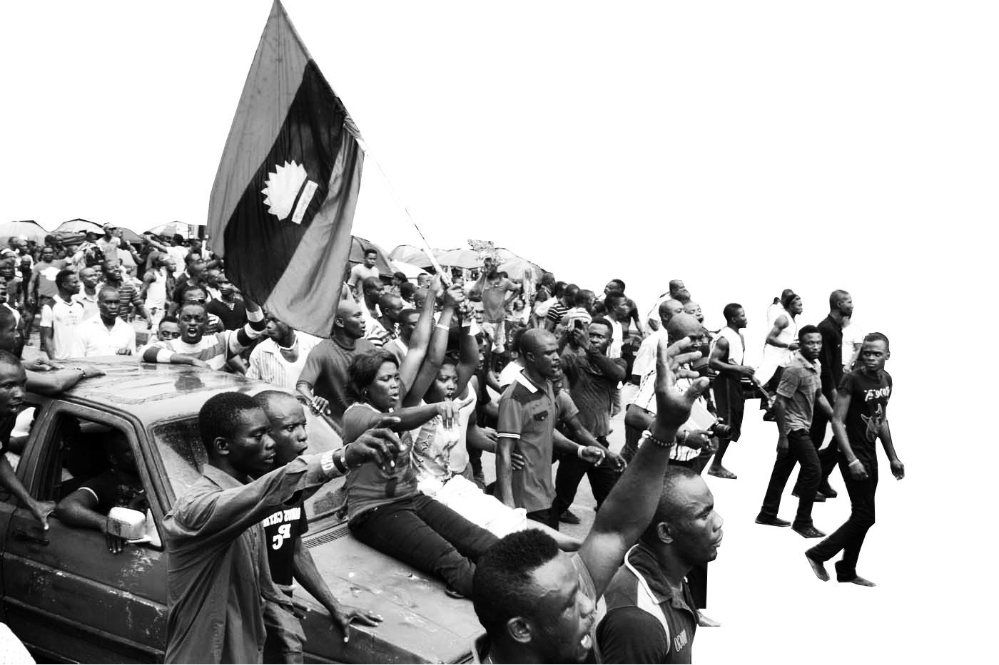 Threatened orders — Non-violent Protests for Biafra